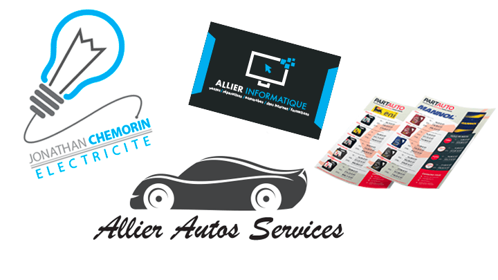 Allier Informatique - Services - Création logotypes